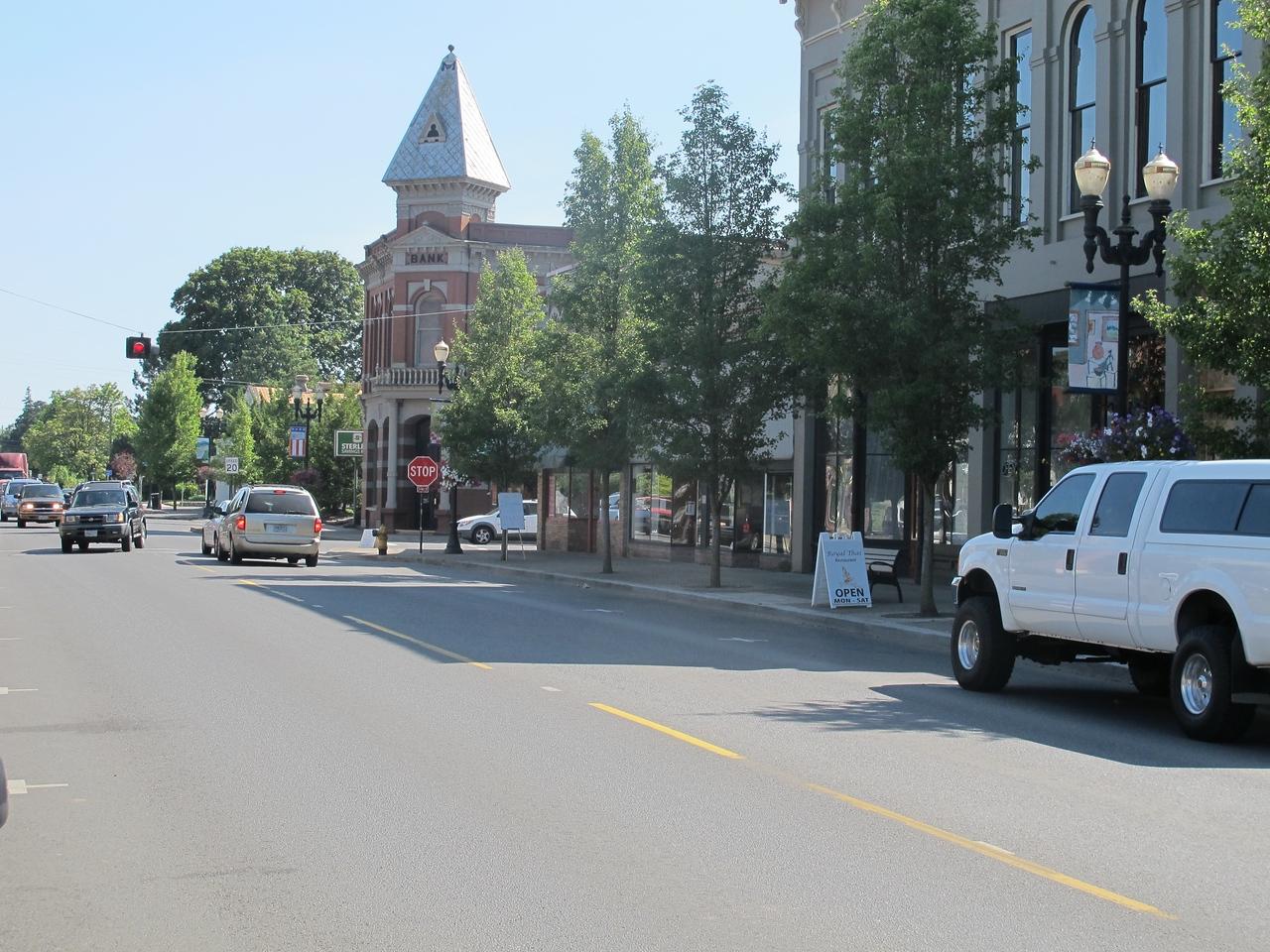 Independence main street.