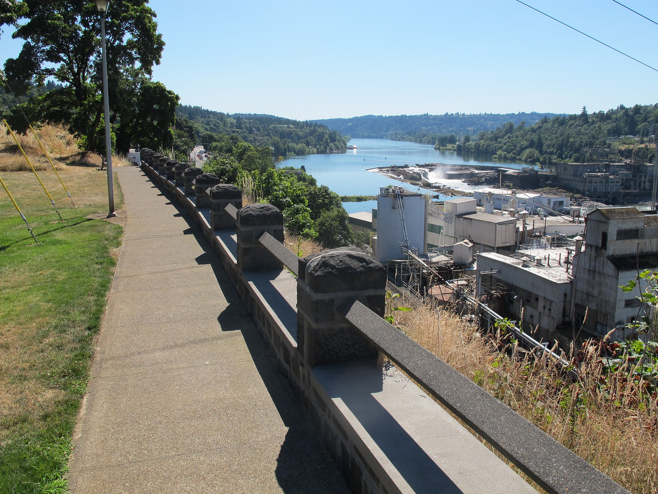 Oregon City, south of Portland.
