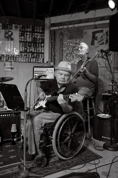 Danny Miller Band in Bill Beaster's garage
