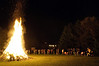 Fall Brawl bonfire