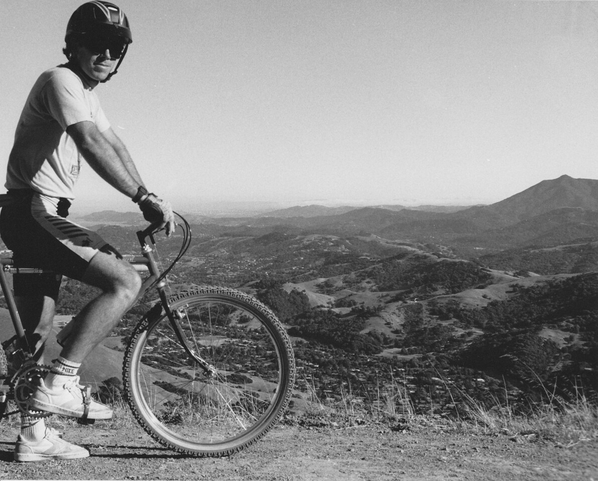 Ritchey Ascent on Big Rock Ridge - late 80's or early 90's?