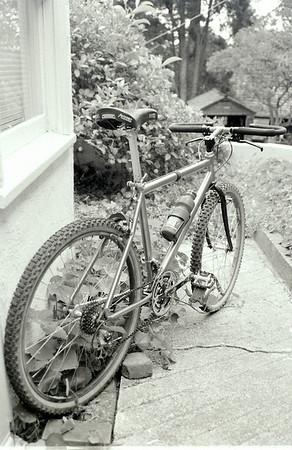 "Nice stem and bars, eh? check out the ""U"" brake"