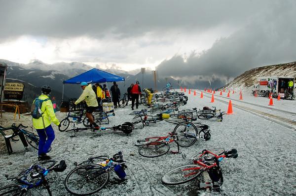 Summer Snowstorm on Loveland Pass