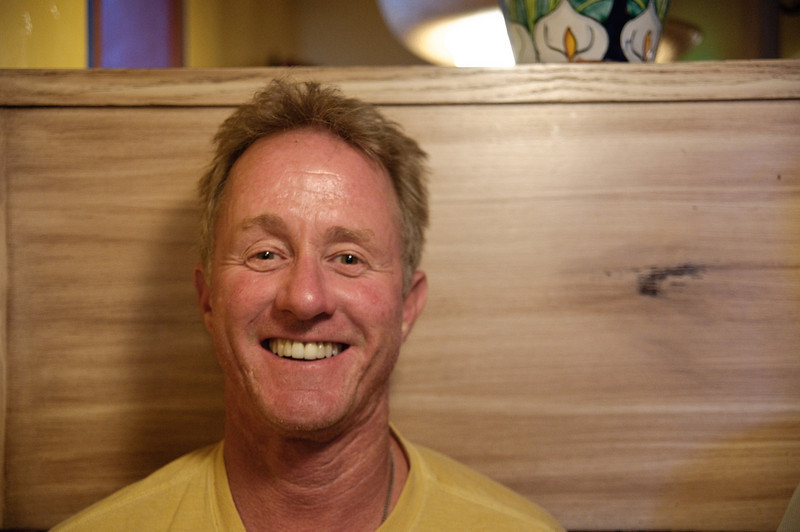 Tom Lichtenfels, my long-lost college roommate in Steamboat Springs.