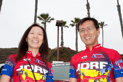 Jeff and Sue were one of two married couples on the bikes.