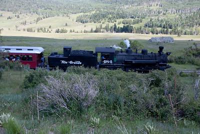 A narrow gauge railroad in NM.