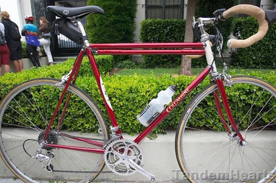 Not all the best bikes were being raced. This Columbine is almost too pretty to ride.