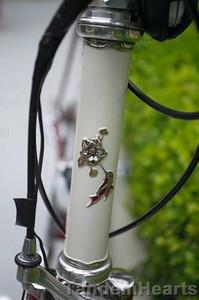 Columbine Bikes are renowed for exquisite details