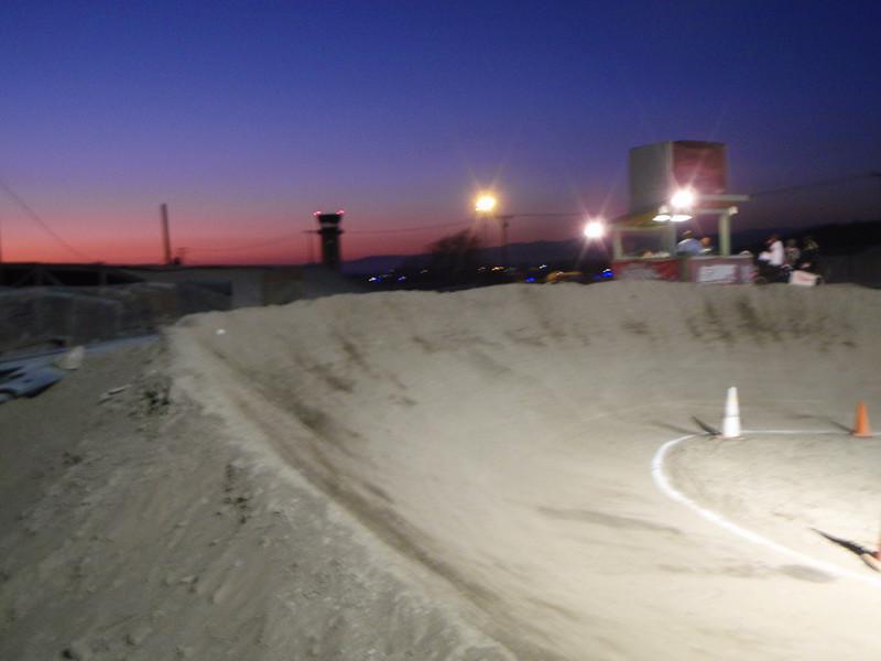Freedom Park BMX at sunset