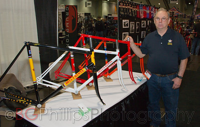 Rolland Della Santa, legendary framebuilder for Greg Lemond among others.