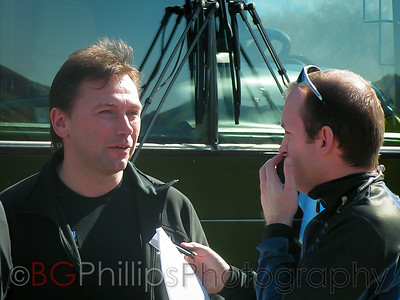 Johan Bruyneel at left.
