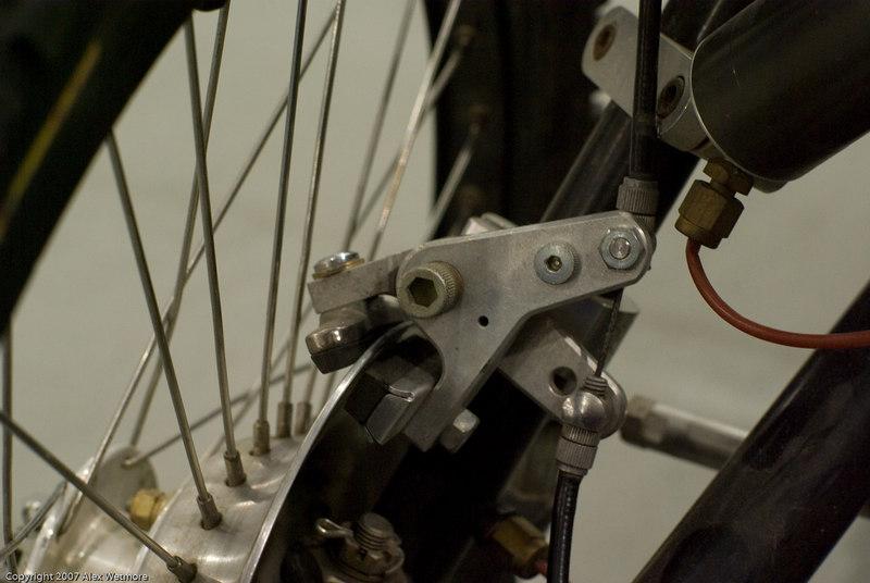 Custom disk brake calipers (using road pads and a custom disk)