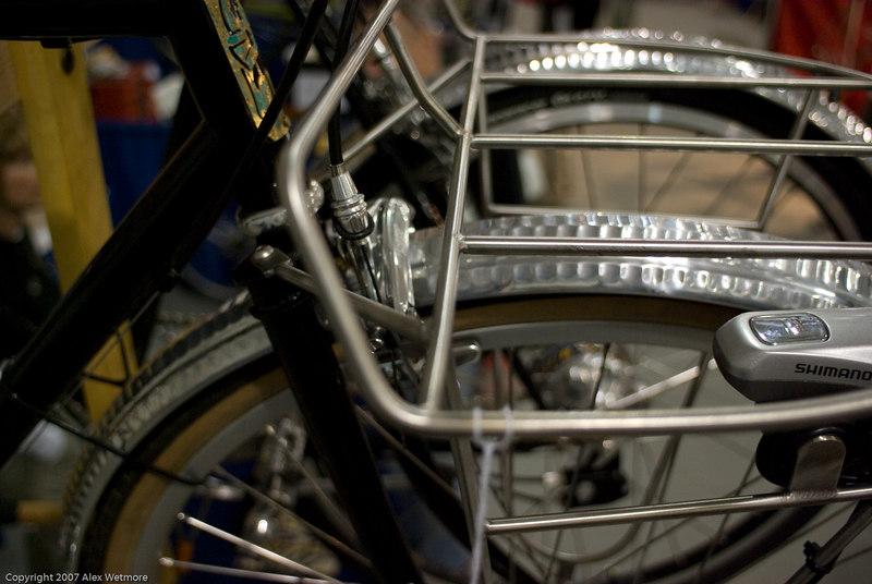 Closeup of the D rack