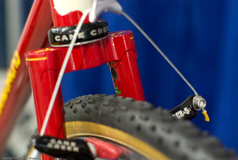 Richard Sachs cyclocross fork crown