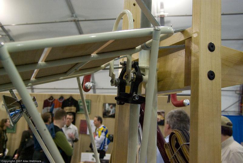 Bilenky platform rack integrated with Paul centerpulls