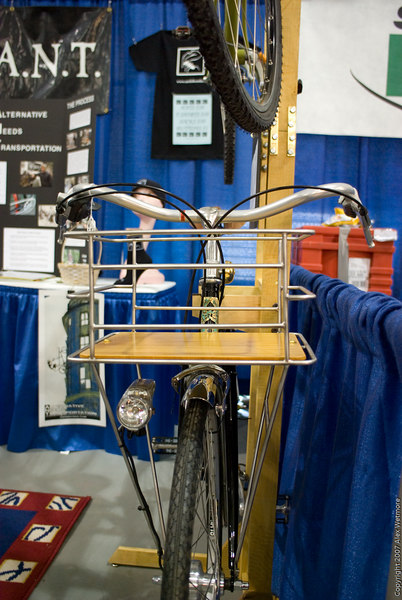 Basket on an ANT bike