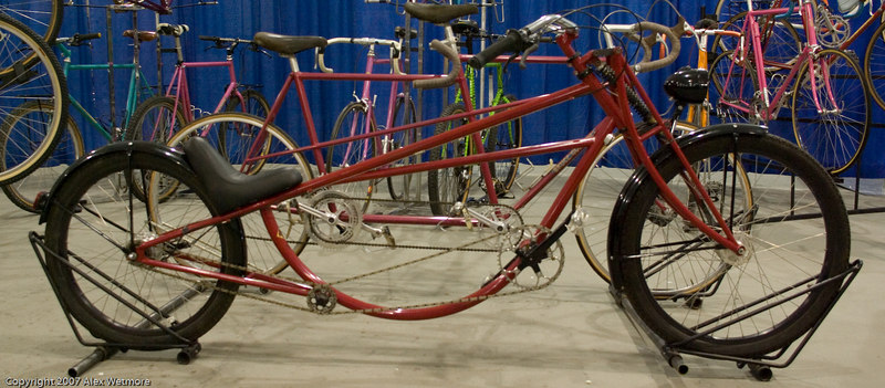 Bruce Gordon dragster bike