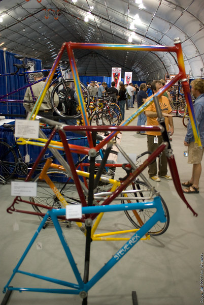 A variety of frames from Rex Cycles