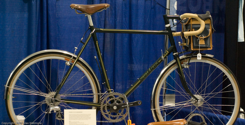 A very nice french-inspired bike from Pereira Cycles.