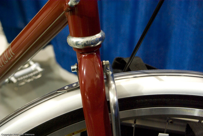 Front lowrider rack detail
