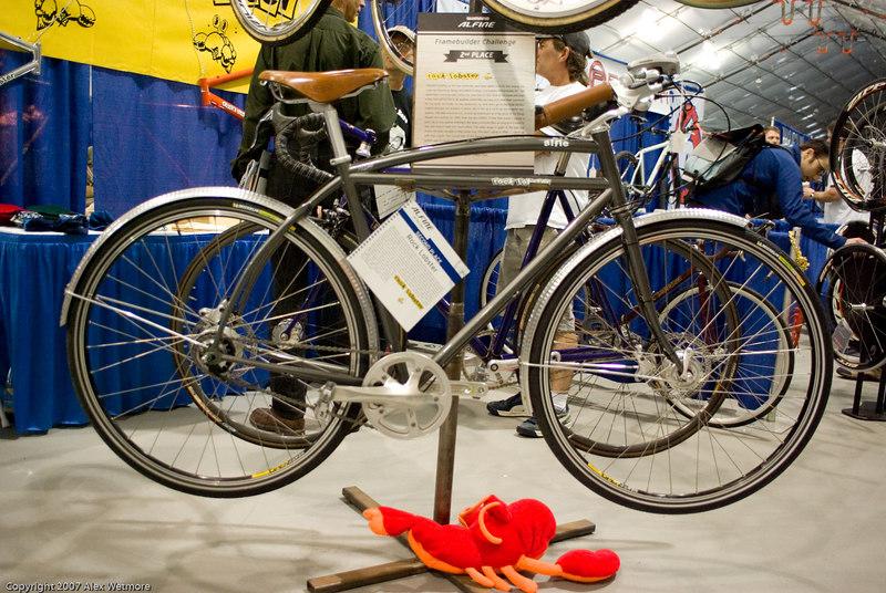 Second place Alfine bike.  No racks.