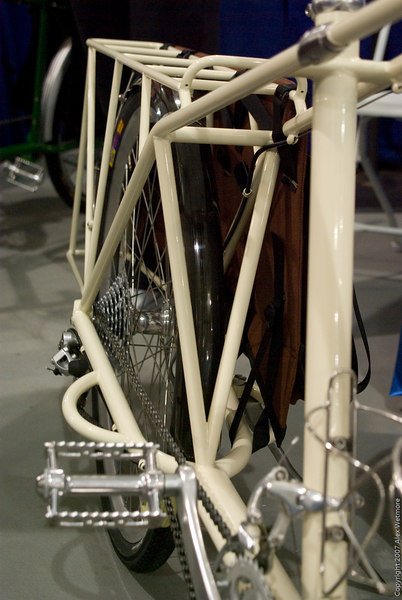 Triangulation in the rear rack.