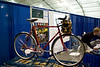 Coho Randonneur with a custom front rack and decaleur.