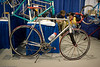Peter Mooney frame with custom shifters, derailleurs, and brakes by Joel Warnock Evett
