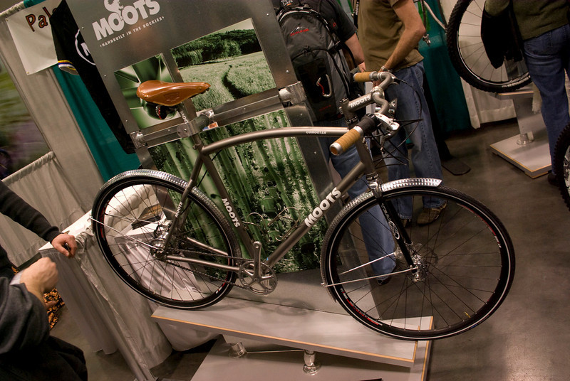 Moots commuter, this is available as a production bicycle.