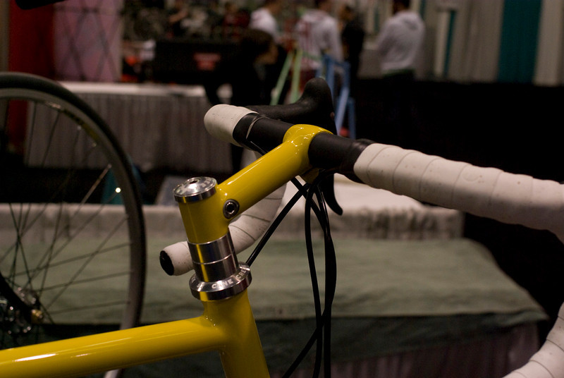 I like the hidden clamp on this stem by Ed Litton.