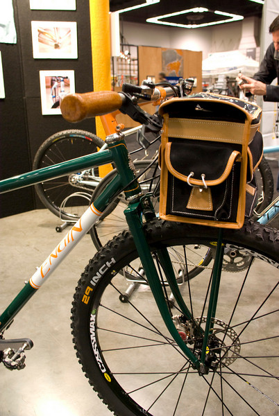 The front rack is a modified Berthoud