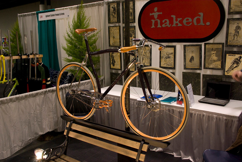 Naked, what a great booth.