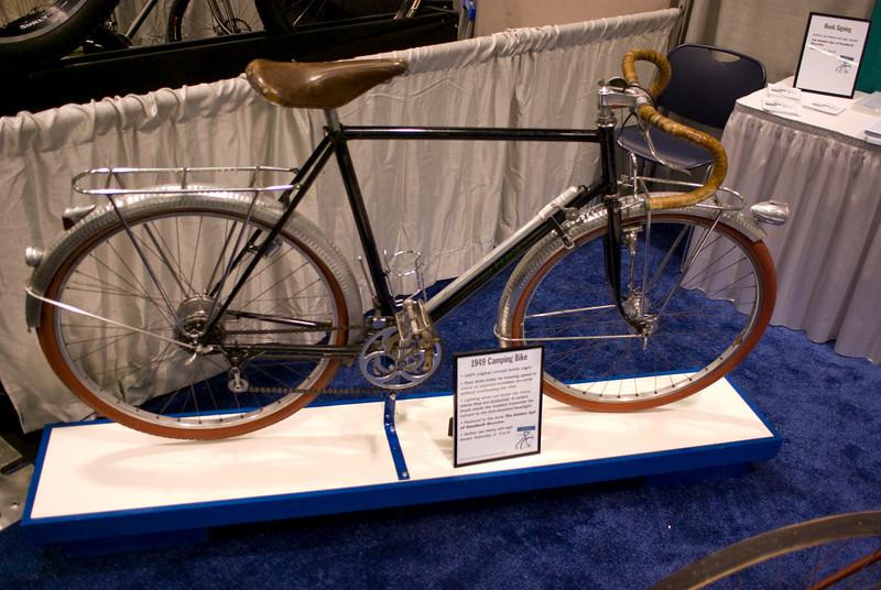 A classic Rene Herse camping bike