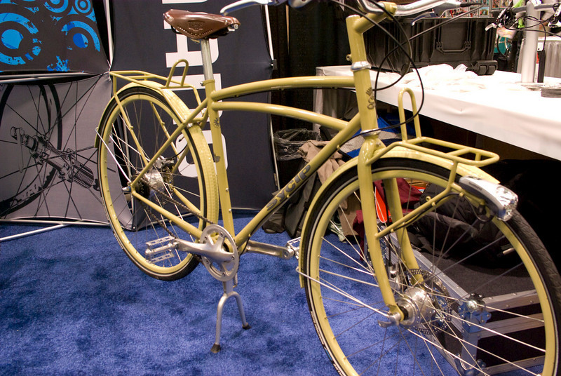 This was Sycip's most practical bike at the show.  They brought many show bikes.