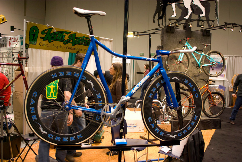 Keith Anderson custom track bike.