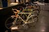 Bilenky show bike.  Bi-laminate construction, custom seatpost with integrated lighting, custom front rack.  This bike is for sale.