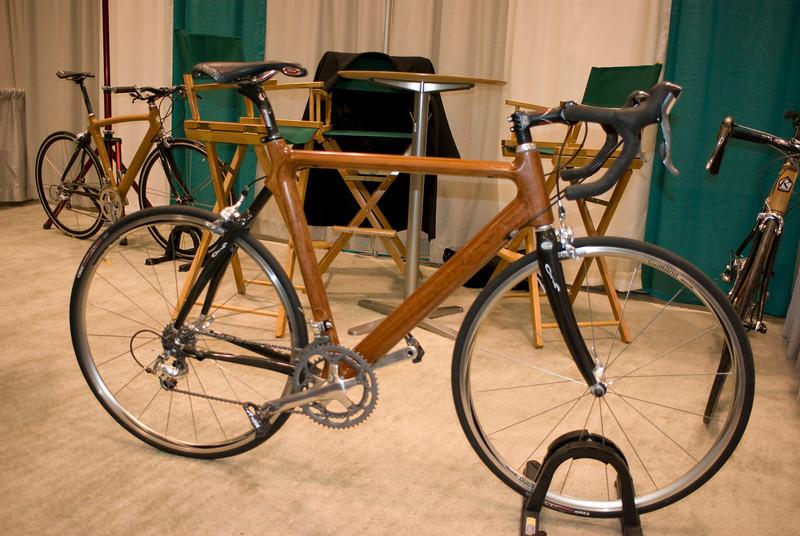 Hardwood bicycle (around 17lbs)
