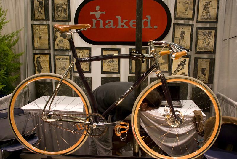 Full bicycle shot.