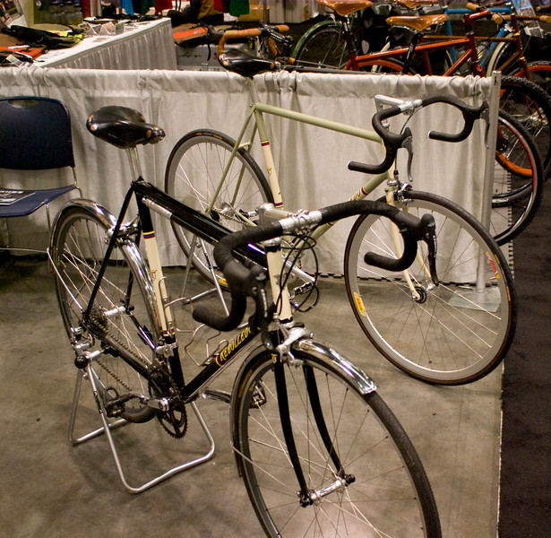 Rebolledo's personal bicycle.