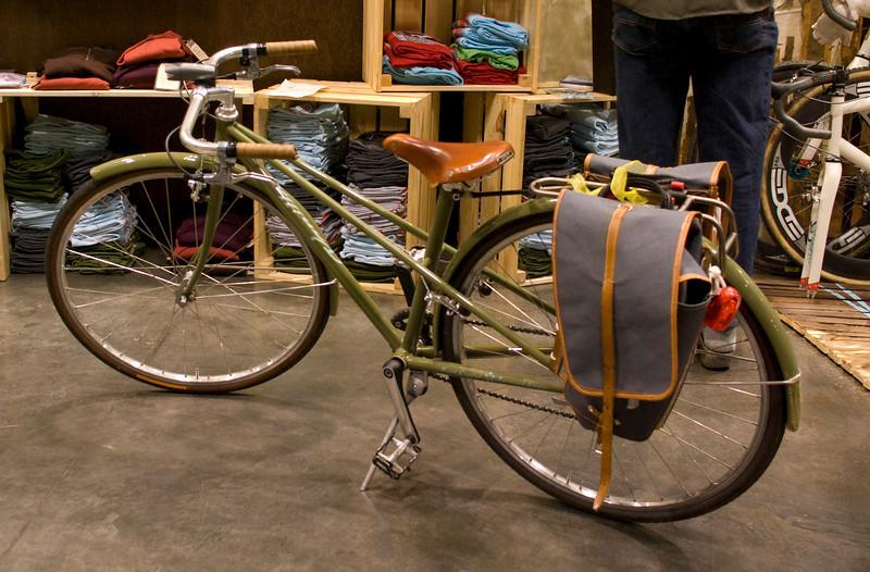 Custom bike for Sacha's daughter