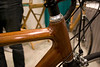 Finger joints on the Renovo hardwood bicycle.  It looks like a lot of work went into this bike.