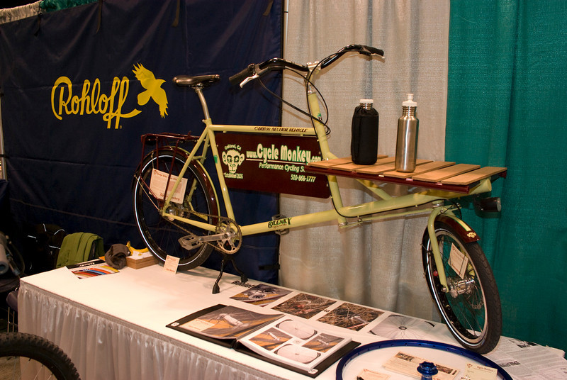Bilenky cargo bicycle with Rohloff