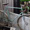 Peter Weigle brought a mix of bikes that he had built, and bikes that he had modified.  I love that!  This Raleigh was great.