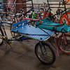 Bilenky's booth was just guest parking for people who had Bilenky Bikes.  There were quite a few of these cargo bikes.