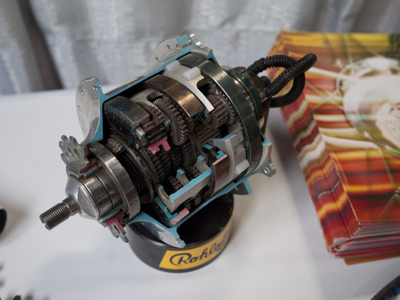 I have a few Rohloff Speedhubs, but never tire of looking at the internals.