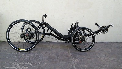 Recumbent Trikes  had come a long way for sure..