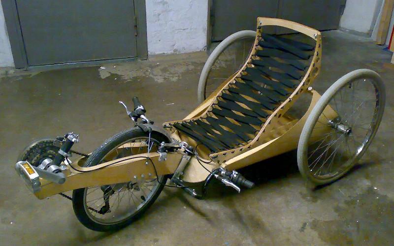 Wooden trike plans/ideas ? - BentRider Online Forums