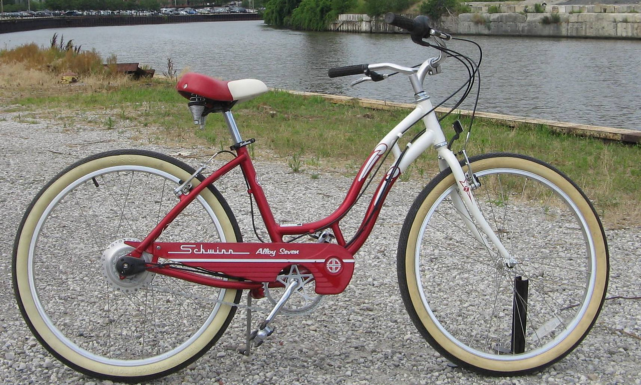 Schwinn with Nuvinci continuously-variable hub. Minimum bid $400. Value:?? (Hub msrp is $400)  Includes all benefits of any Ohio City Bicycle Co-op bike-purchase ($60 value).