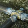 Head tube/cargo tube junction.