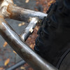 Tire to chainstay bridge clearance is identical.  Thanks bridge jack.